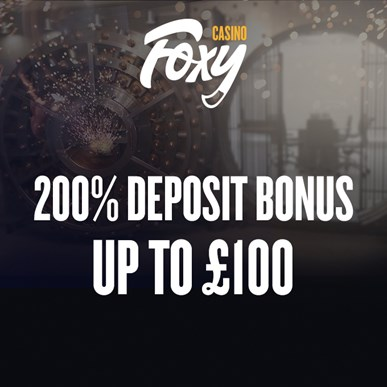 Foxy Casino Welcome Offer