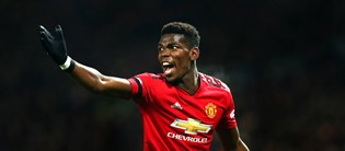 Paul Pogba has been a revelation under Solskjaer and is a key cog in United's midfield three.