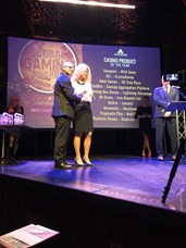 Warren Jacobs awards NetEnt with Casino Product of the Year.