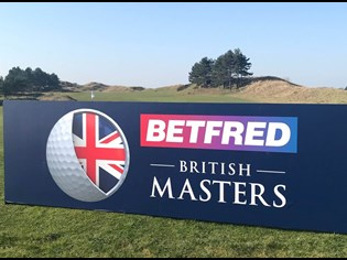Lee Westwood hosts the Betfred British Masters